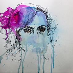 Self Portrait Mefore Aday Art