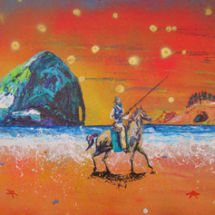 Mefore Aday, CoWboy on the Beach