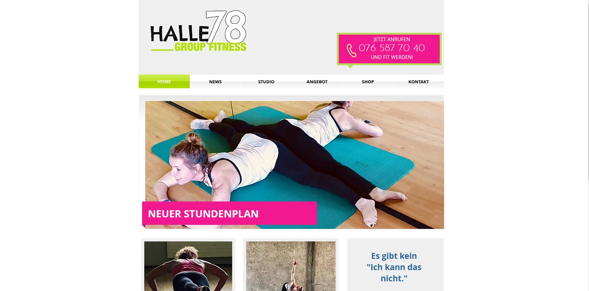Group Fitness Halle 78, Sarmenstorf