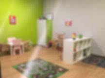 Kinderbetreuung in der Halle 78