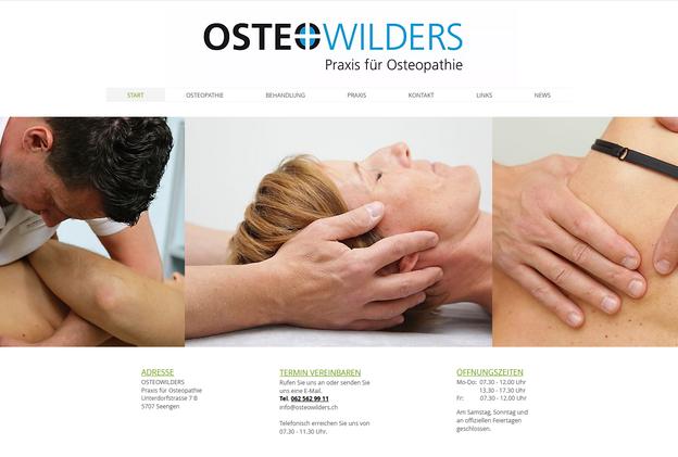 Praxis für Osteopathie Wilders, Seengen