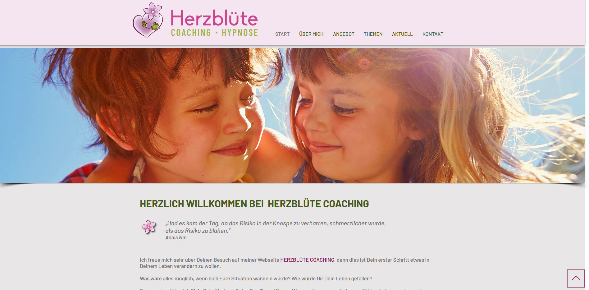 Sandra Kretschmer, Herzblüte Coaching, Seengen