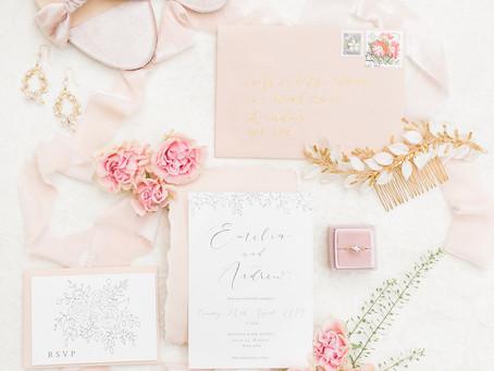 Wedding Planner Hertfordshire Shares a Romantic & Soft Wedding Inspiration at Hunton Park