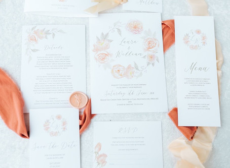 Wedding Planner Cambridgeshire Shares Peach Wedding Inspiration