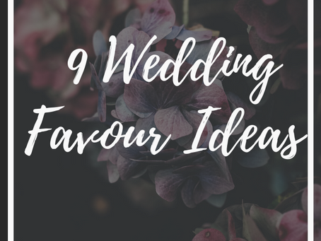 Wedding Planner Cambridgeshire Shares Nine Different Wedding Favours Ideas