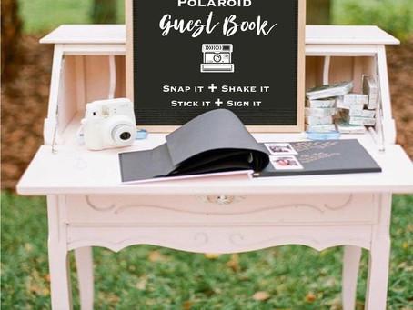 Wedding Planner Bedfordshire Shares 3 Unique Guest Book Ideas