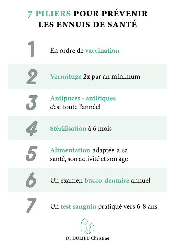 Les 7 conseils du Docteur Christine Dulieu