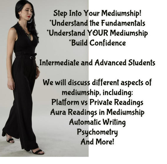 Step Into Your Mediumship with Cindy Kaza