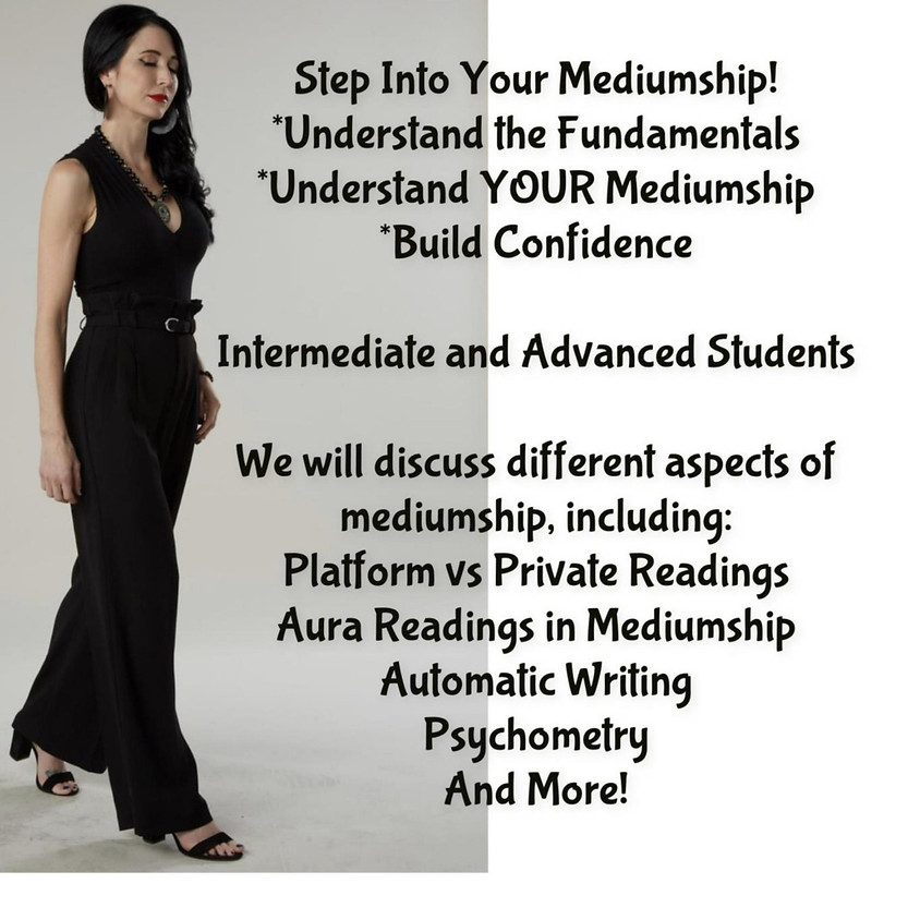 Step Into Your Mediumship!