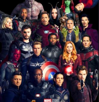 Top Ten Most Powerful Marvel Superheroes