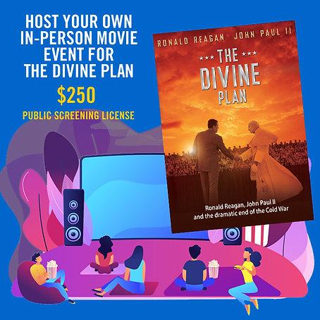 The Divine Plan In-Person Public Screening License