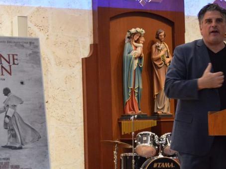Diocese hosts exclusive screening of 'Divine Plan'