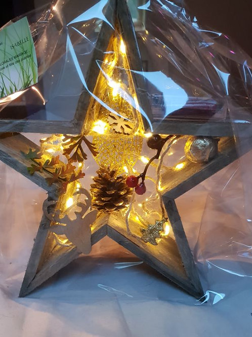 Etoile à poser lumineuse de Noël N°1