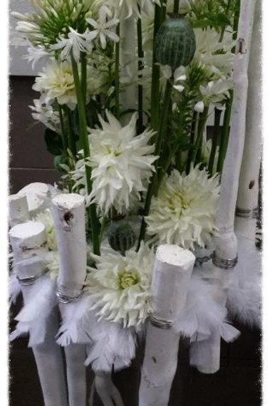 Compo 46 Magnifique compo blanche