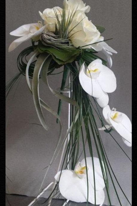 Bouquet 15 Orchidées effet retombant