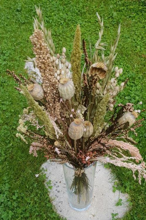 Bouquet 10 couleur naturel