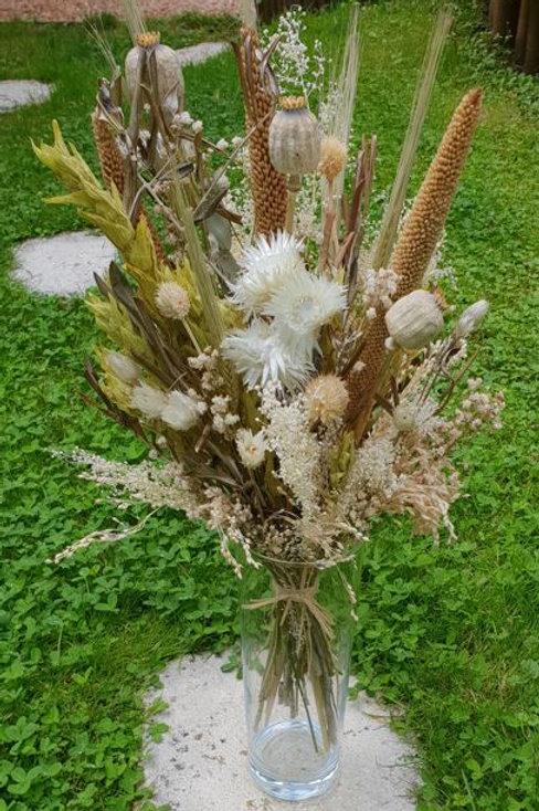 Bouquet 8 couleur naturel