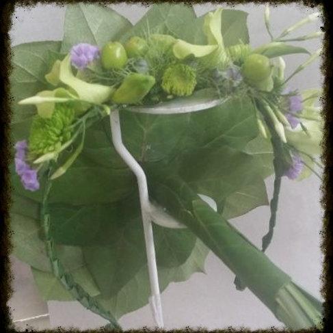 Couronne de fleurs 1