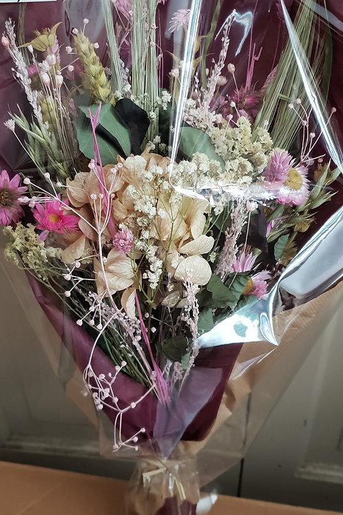 Bouquet 14 couleur blanc et rose