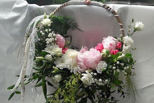 Bouquet Sac en fleurs fraîches