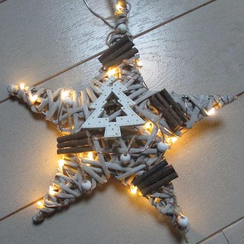 Etoile lumineuse de Noël N°2