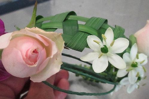 Bracelet de fleurs 1