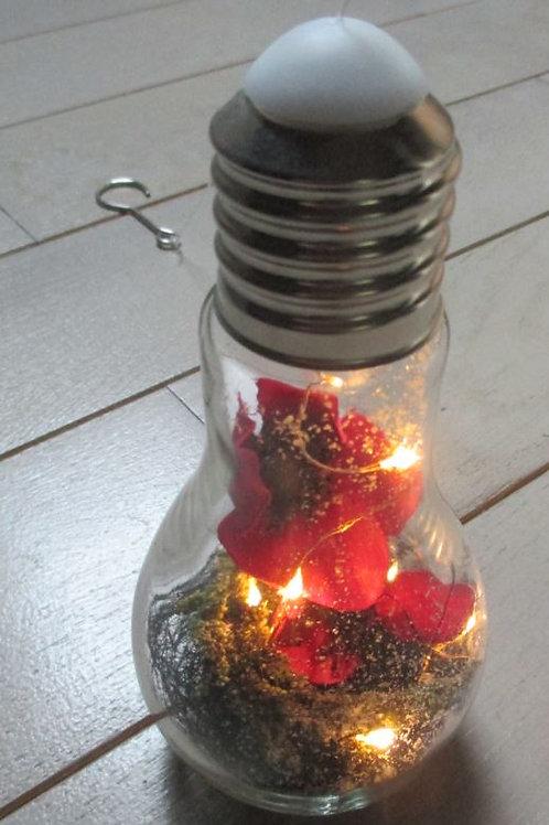 Ampoule lumineuse et décorée n°1