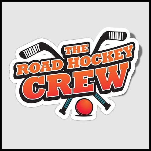 Road Hockey Crew Sticker