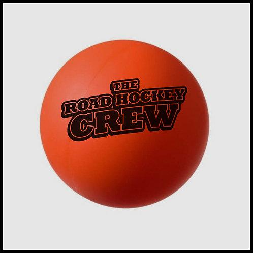 Orange Hockey Ball