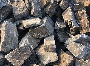landscape hand stack rock