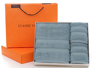 bath gift box towel three-piece set  v2.