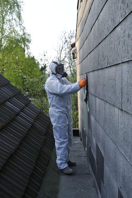 Asbest Fassade