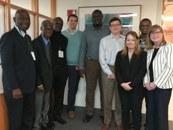 African Colleagues at DFCI 2017