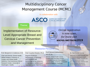 Multidisciplinary Cancer Management Course - July 11-13, 2019-Radisson Blu Hotel, Lago, Nigeria