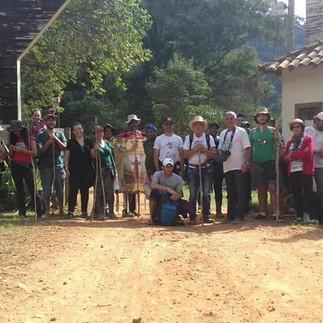 Caminhada Franciscana da Serra do Brigadeiro resgata cultura e ecologia
