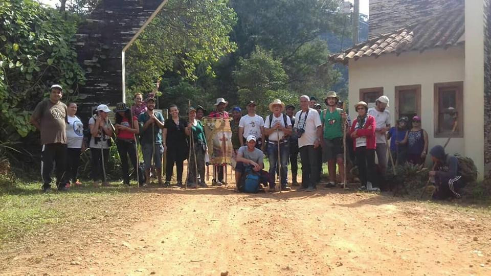 1° Caminhada Franciscana da Serra do Brigadeiro