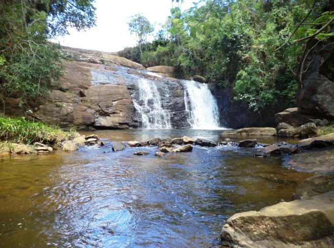 Cachoeira do Piu: uma das mais belas quedas d'água da Serra do Brigadeiro