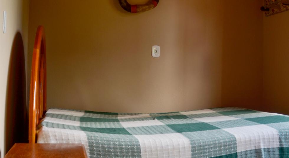 Quarto Cama de Casal 2, Rancho das Pedras, Estouros, Araponga-MG, Serra do Brigadeiro