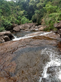 Cachoeira sr. Dico Simão, em Araponga-MG, na Serra do Brigadeiro
