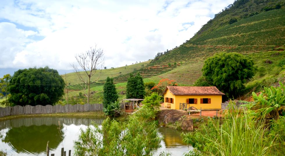 Rancho das Pedras, Counidade Estouros, Araponga-MG, Serra do Brigadeiro