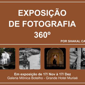 Exposição de Shakal Carlos mostra novo olhar 360° sobre a natureza e o cotidiano