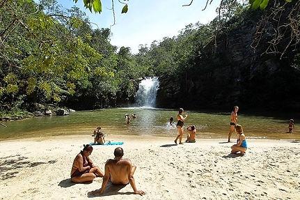 Cachoeira do Naor, em Belisário, na Serra do Brigadeiro