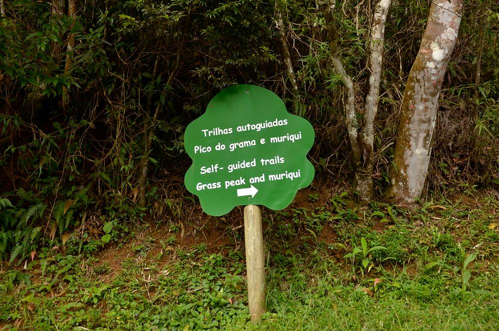 Pico do Grama no Parque Serra do Brigadeiro com trilha autoguiada