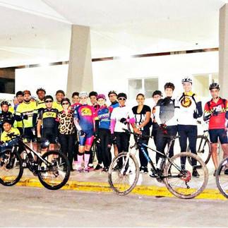 Pedal dos Amigos reúne 60 bikes para desafio na Serra do Brigadeiro