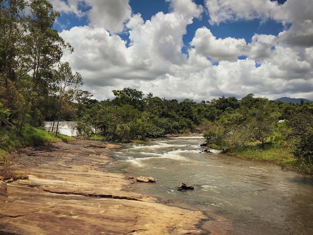 Cachoeira dos Ferreira, na Serra do Brigadeiro | Ponto de origem do Rio Glória