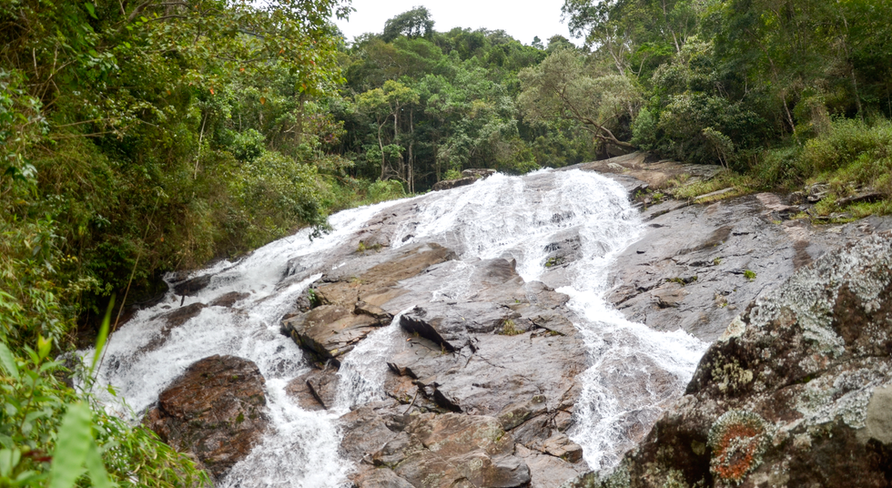 Cachoeira do Rochedo na Serra do Brigadeiro