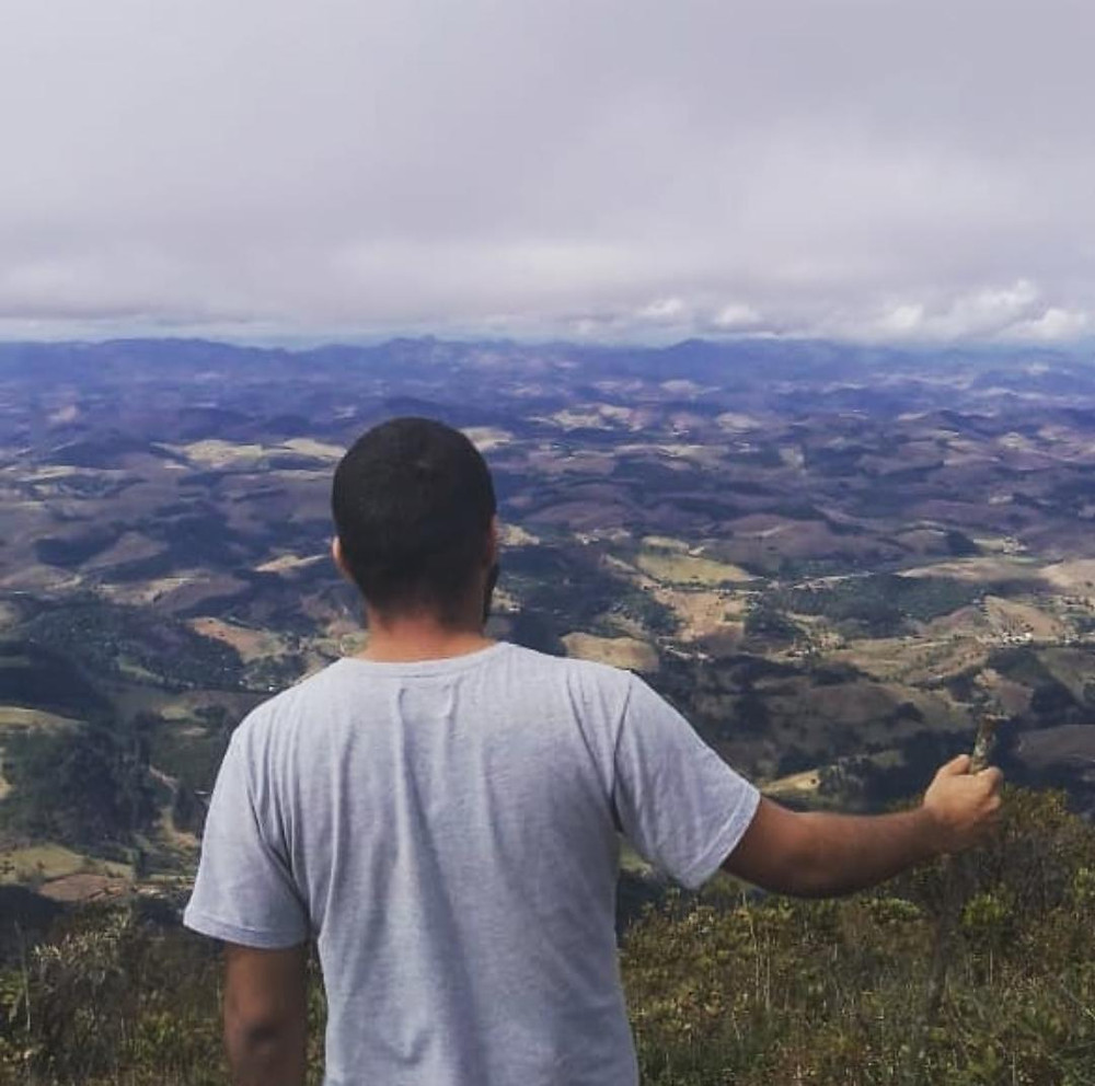 Igor Soares no Pico do Boné