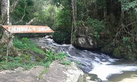 Pousada Refúgio dos Galdinos, em Bom Jesus do Madeira, na Serra do Brigadeiro-MG