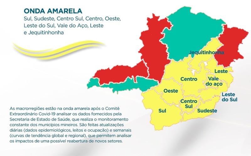 Atividades culturais e parques estaduais podem funcionar na onda amarela do Minas Consciente
