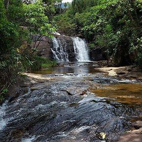 Cachoeira do Piu, em Bom Jesus do Madeira, na Serra do Brigadeiro